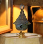 Birdhouse Lamp Finial